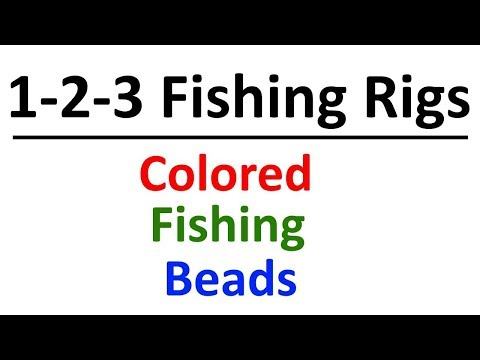 Fishing Beads - Hooks And Leaders With Interchangeable Colored Beads