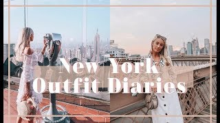NEW YORK OUTFIT DIARIES // What I Wore + Did in NYC // Fashion Mumblr