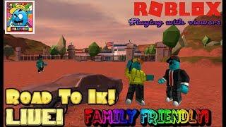 Roblox #9   ROAD TO 1000 SUBS!   LIVE! (sjk livestreams #181)
