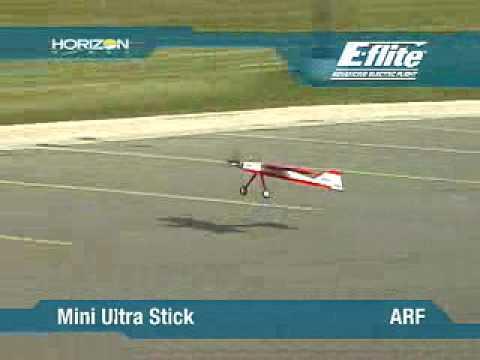 Mini Ultra Stick Arf By E Flite Youtube