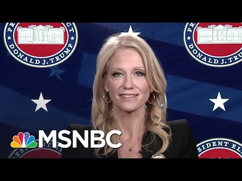 Kellyanne Conway: White House Job A Weighty Responsibility | Morning Joe | MSNBC