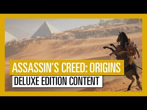 Assassin's Creed Origins - Deluxe Edition Content Trailer