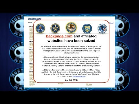 FBI shuts down Backpage for facilitating prostitution