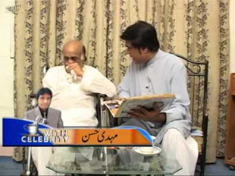 Mehdi Hassan Last Interview tea with celebiraty Dhoom TV Hosted by Muhammd Faysal Nadeem part 3.flv