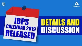 IBPS Calendar 2019-20   IBPS Official Calender out   Details & Discussion
