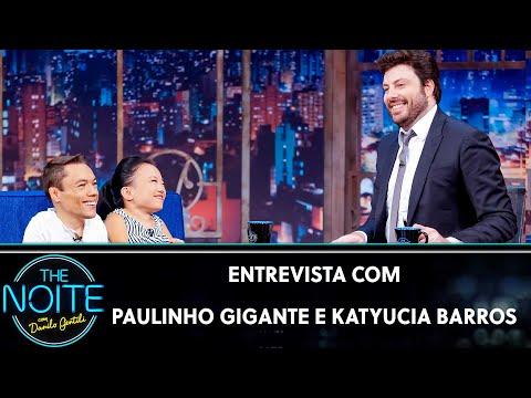 Entrevista com Paulinho Gigante e Katyucia Barros  The Noite 130919