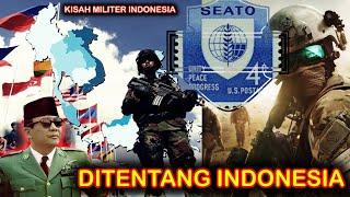 DITENTANG INDONESIA !! SEATO PAKTA PERTAHANAN ASIA TENGGARA buatan MAMARIKA yang isinya ANGGOTA NATO