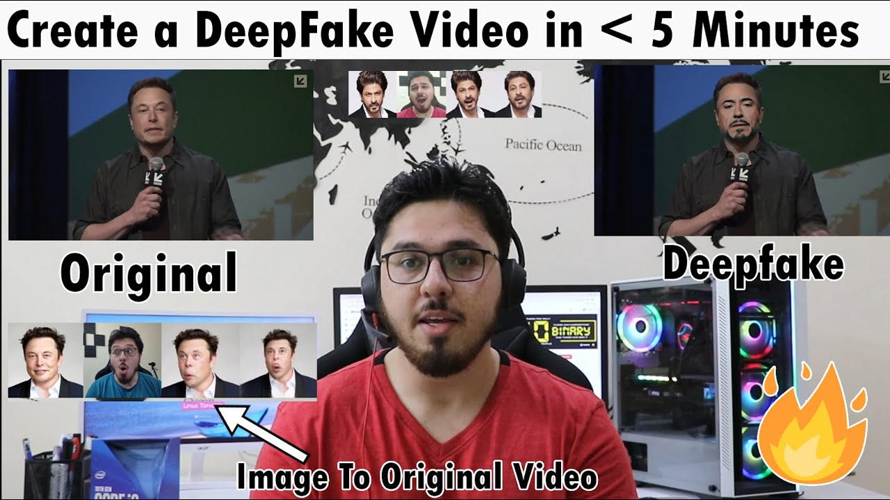 How To Create Deepfake Videos In 5 Minutes (Hindi)
