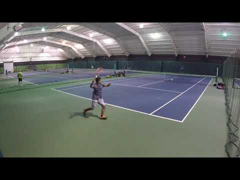 USTA Mens Open HIGHLIGHTS (Indoor Tennis)