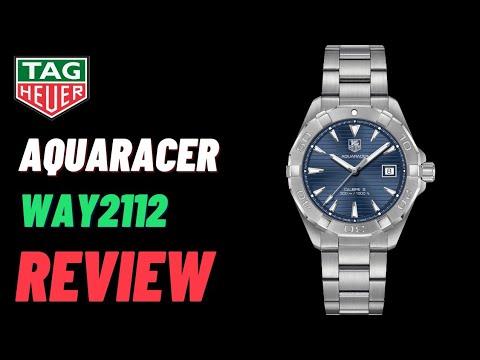 รีวิว TAG Heuer Aquaracer Calibre 5 : WAY2112 Review