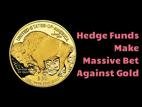 Record Short Gold Position for Hedge Funds