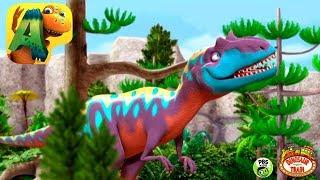 Dino Tren en Español - Dinosaurios para Niños - Niños Aprenden de los Dinosaurios con Dibujos
