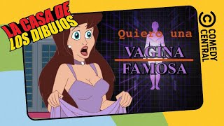 Mi Vagina Se Parece A Joan Rivers  La Casa De Los Dibujos  Comedy Central LA