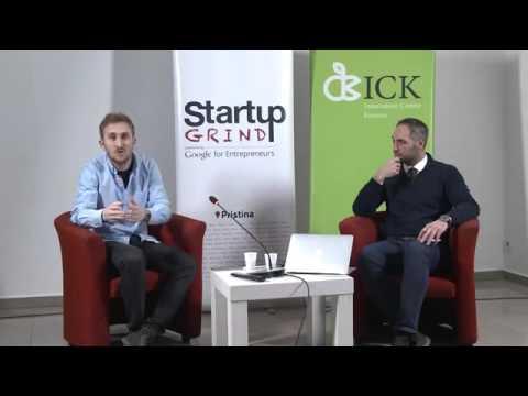 Startup Grind Pristina Event  8 presented Leutrim Blakaj (Entermedia)