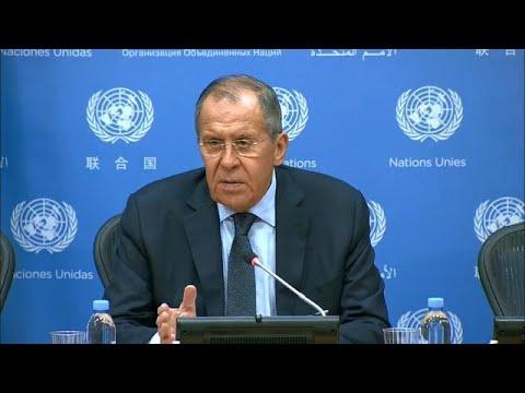 Sergey Lavrov (Russia) – Press Conference (27 September 2019)