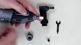 REVIEW of Dremel 575 Right Angle Attachment for Rotary Tool