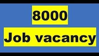 8000 JOB VACANCY  ഒഴിവുകൾ # LIVE #PSCTALENT
