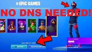 (NO DNS) i Just Got EVERY SKIN in Fortnite - NEW FORTNITE GLITCH By TheLegend_Gamer *JULY 17TH*