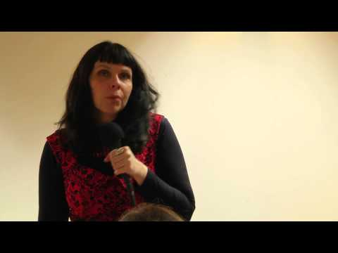 Birgitta Jónsdóttir: Free Internet and Freedom of Press - Q&A - Praha 24. 1. 2015