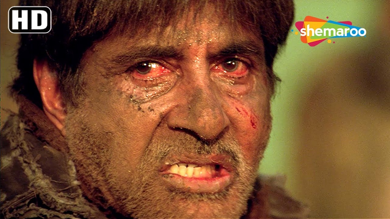 Download Amitabh Bachchan emotional scene from Deewar 2004 - Bollywood Movie Action Scene