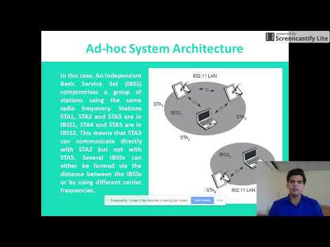 IEEE 802.11 System and Protocol Architecture by Sachin Singh