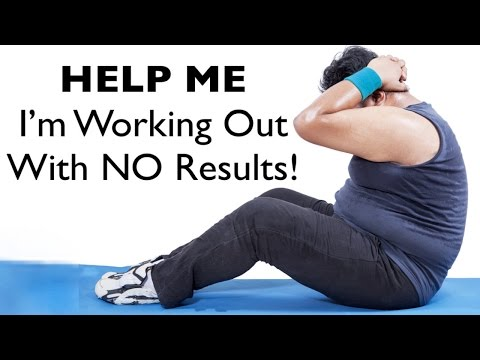 HELP I'm Working Out & Eating Right But NO Results!