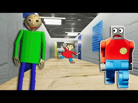 LEGO BALDI'S BASICS INVADES LEGO CITY SCHOOL! - Brick Rigs Gameplay - Baldi's Basics School Roleplay