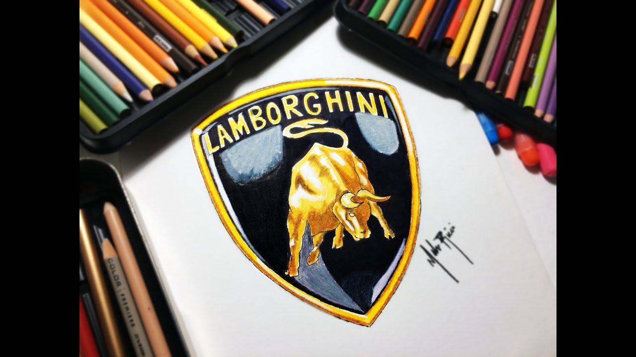 Como Dibujar Logo Lamborghini How To Draw The Lamborghini Logo