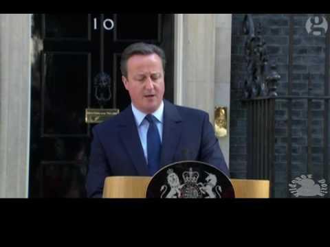 Discurso de la renuncia de David Cameron (Sub español)