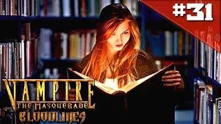 Прохождение Vampire The Masquerade Bloodlines #31 - Ночь в библиотеке