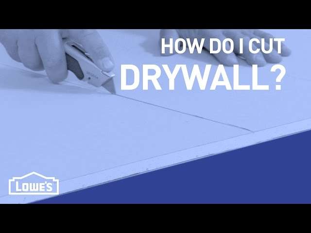 How Do I Cut Drywall? | DIY Basics Download video - get