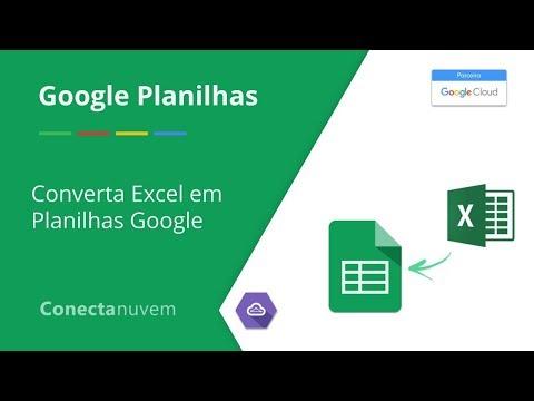 Como converter planilhas Excel em Planilhas Google - Google Planilhas