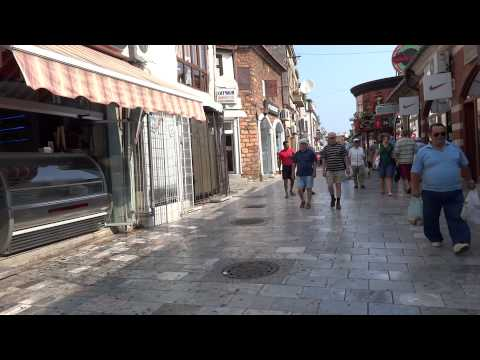 Walking in Ohrid, Macedonia