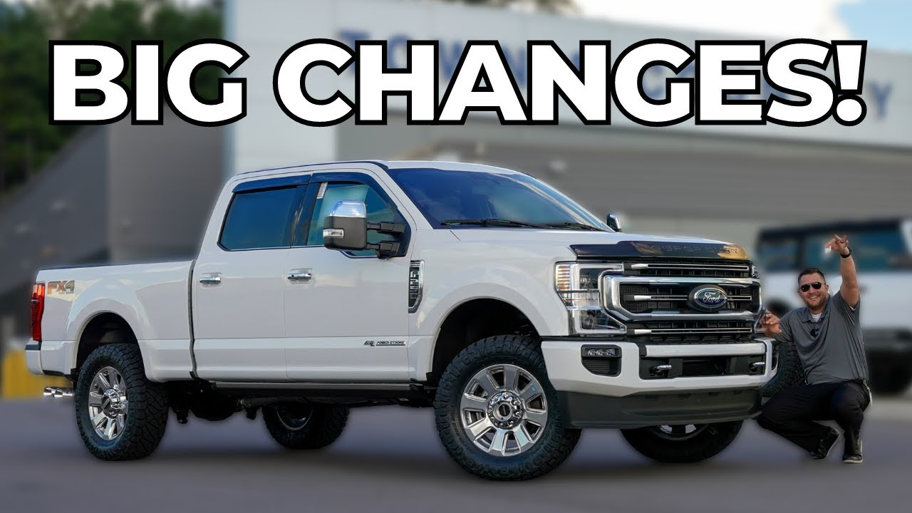 2022 Ford Super Duty Platinum! What's New?