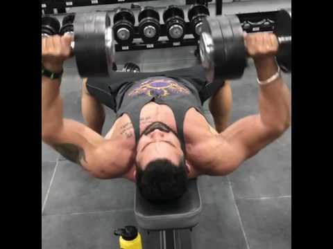 Gym workout ROBIN KHAIRA
