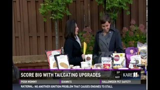 Score Bit with Tailgating Snack Upgrades (10/17/15 on KARE 11)