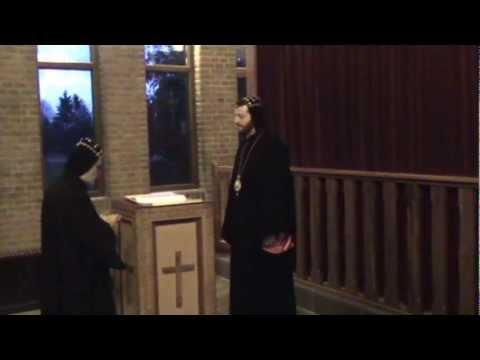 Vesper at Syriac-Orthodox Monastery St. Ephrem, Holland