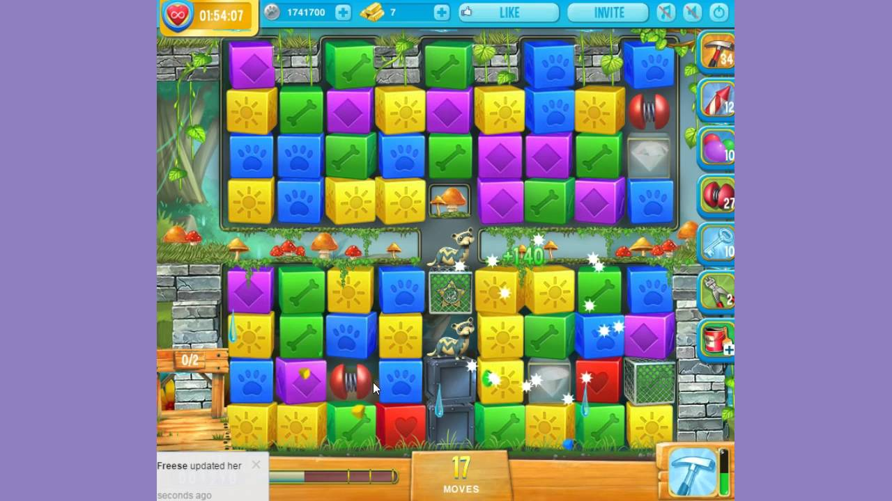 Pet rescue island level 4 09th 11th march 2016 youtube for Pet island level 4