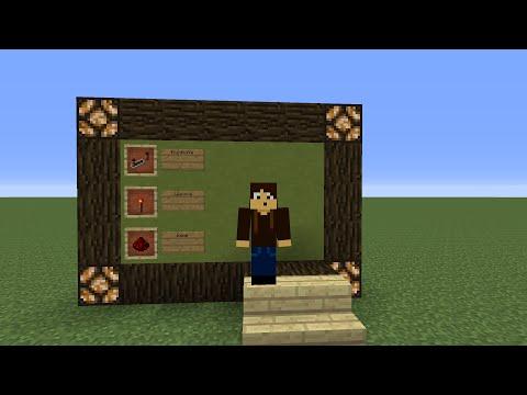 Minecraft Redstone Návody 11.Díl já jsem Agent