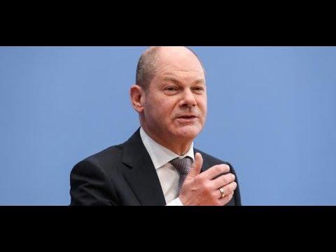 Europäische Union: Vizekanzler Olaf Scholz kündigt neuen Finanz-Kurs an