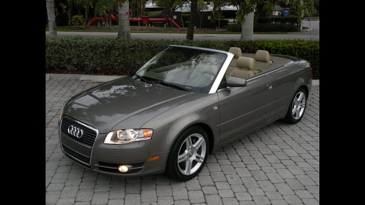 Audi Fort Myers >> 07 Audi A4 Convertible For Sale Auto Haus of Fort Myers FL ...