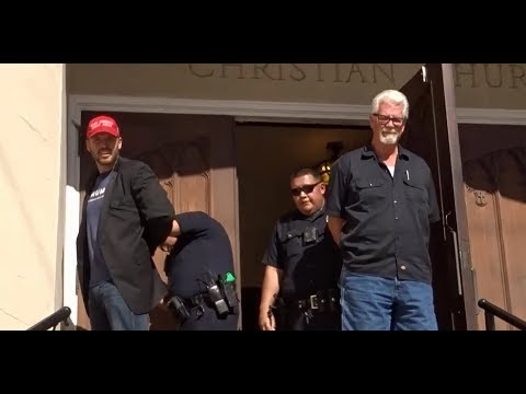 OUTRAGEOUS: LAPD POLICE PUT 3 AMERICAN TRUMP SUPPORTERS IN HANDCUFFS TO PROTECT ILLEGAL ALIENS