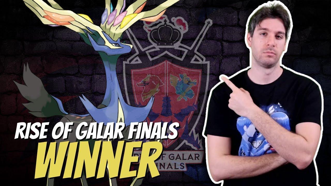 RISE OF GALAR FINALS WINNER TEAM - #pokemon Spada & Scudo ⚔️🛡️