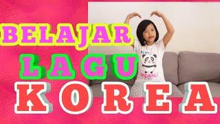 #lagukorea Belajar lagu korea dan artinya (keluarga beruang)