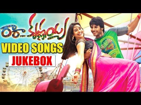 Ra Ra Krishnayya Back 2 Back All Video Songs - Jukebox - Sundeep Kishan, Regina Cassandra