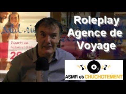 ASMR Français - Roleplay Agence de Voyage