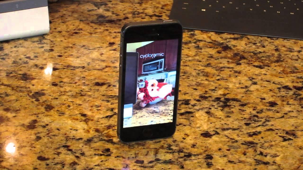 Cycloramic Camera App for Hands Free Panoramas
