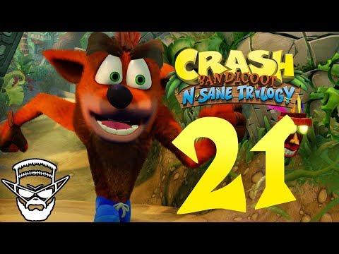 MOTORKA !  - CRASH BANDICOOT N SANE TRILOGY / 1080p 60fps / CZ/SK Lets Play / # 21