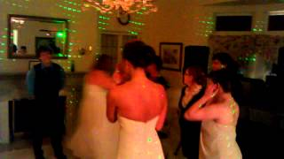 Mansion on the Lake Weddings Beach Mansion Weddings Dancing in the Dining Room