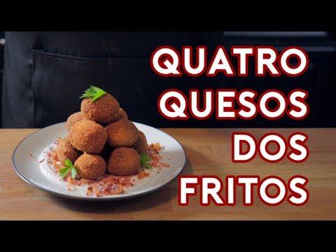 Binging with Babish: Quatro Quesos Dos Fritos from Psych